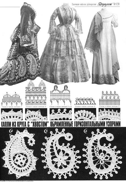 Outstanding Crochet: Irish Crochet. Designer Asia Valleeva. Paisley.  http://outstandingcrochet.blogspot.com/2012/09/irish-crochet-designer-asia-valleeva.html#