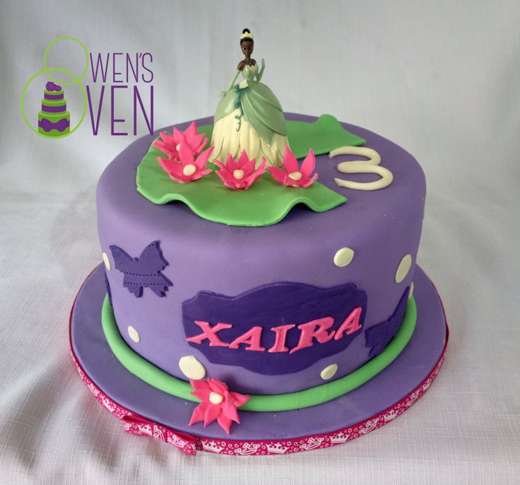 Princess Tiana Cake Pictures : Princess Tiana Birthday Cake Cakes Pinterest