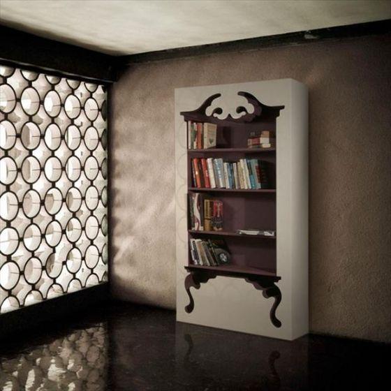 boekenkast, stijlvol maar toch praktisch..