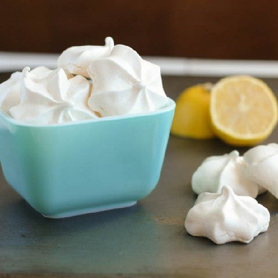 Lemon Meringue Cookies | Food & Drinks | Pinterest