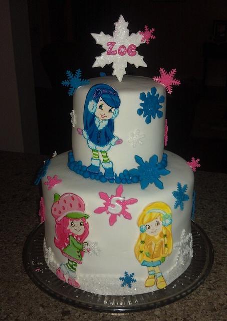 Strawberry Shortcake Turns 30 Mom Confessionals | Dark Brown Hairs
