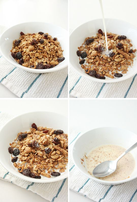 peanut butter and honey granola | Recipes | Pinterest