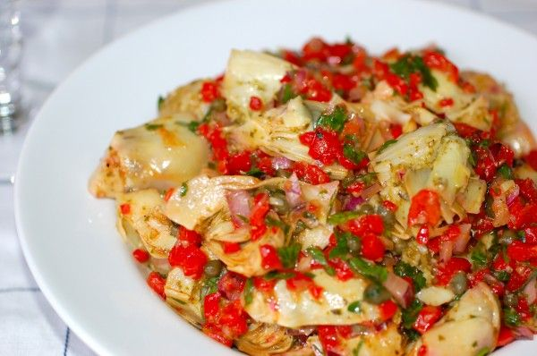 roasted artichoke hearts | veggies | Pinterest