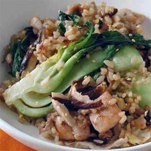 Chicken Fried Rice with Bok Choy | MyRecipes.com It takes longer than ...