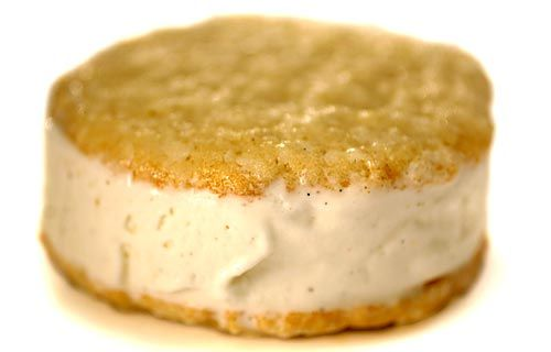 Coconut Cookie Ice Cream Sandwiches Recipe (LA Times Food)