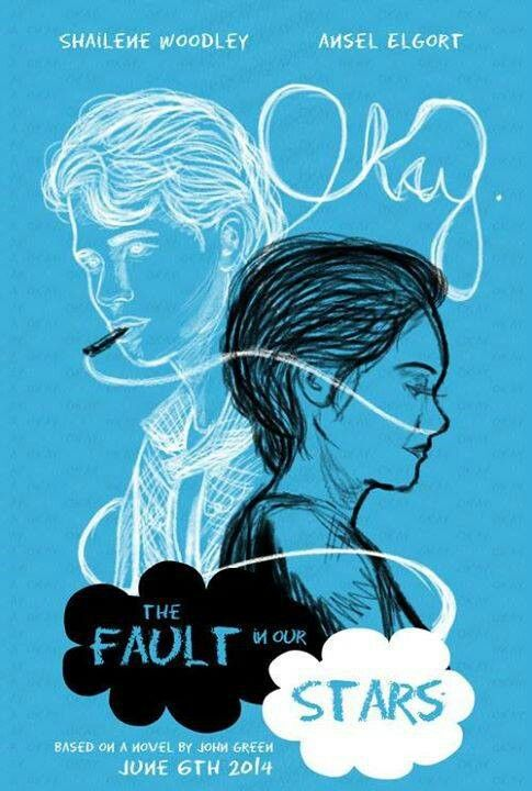 fan made tfios movie poster the fault in our stars