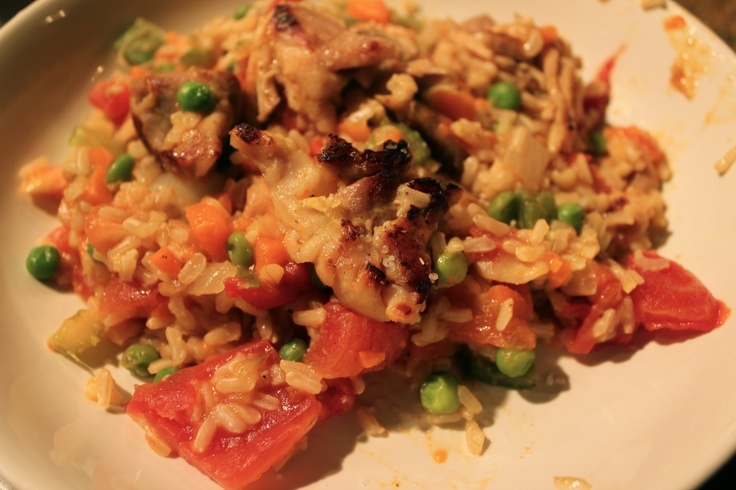 Arroz con pollo | Fields of Food recipes | Pinterest