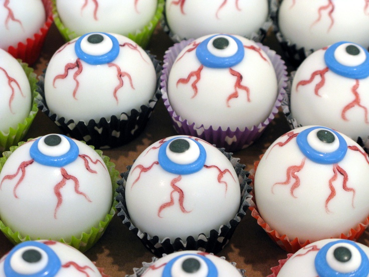 Halloween Cake Balls | Cake Ball Ideas | Pinterest