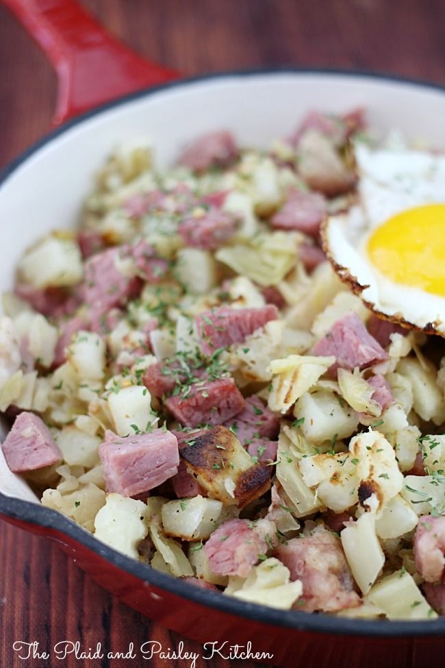 Corn Beef Hash Recipe | This week | Pinterest
