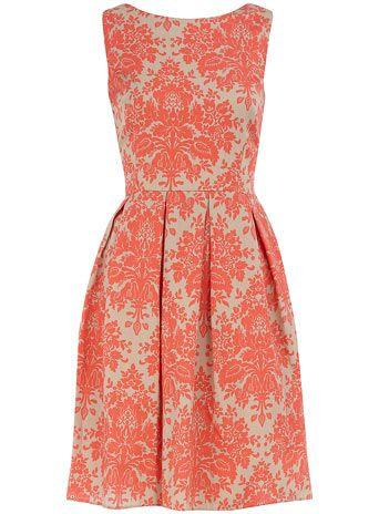 Gorgeous Dorothy Perkins Coral Dress....love love love