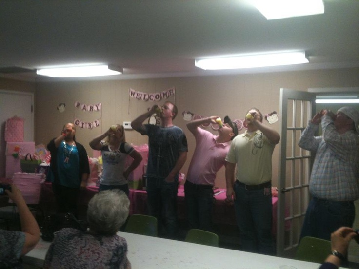 funnest baby shower game ever called baby bottle battle get th