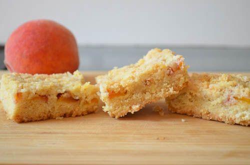 Peach Shortbread Bars | Food/Party Ideas | Pinterest