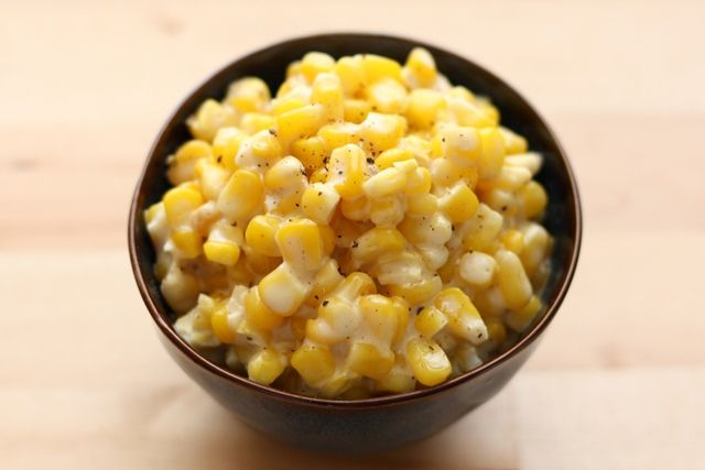 Rudy's Slow-Cooker Creamed Corn from @Barefeet In The Kitchen