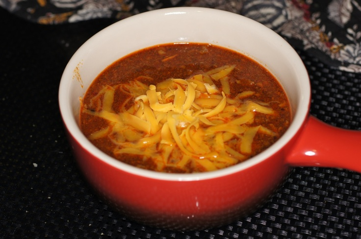 Super Bowl Chili, Texas-Style | Absolutely Delicious - Soups | Pinter ...