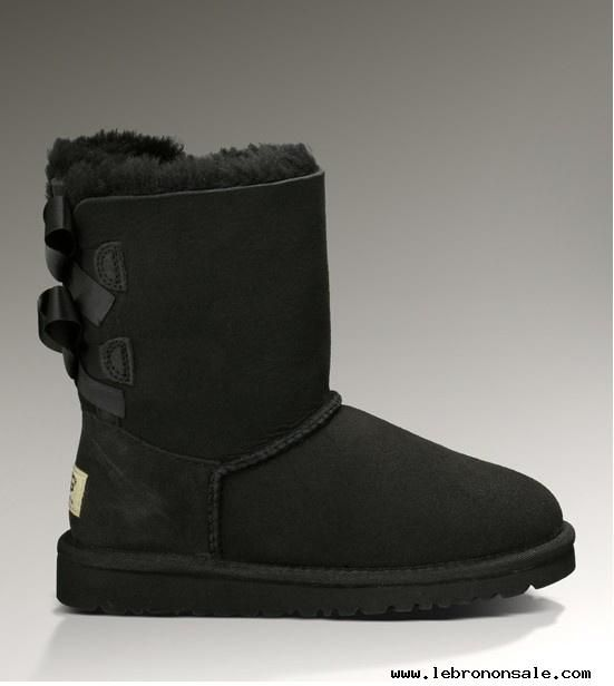 Authentic Womens Bailey Bow Black Boots