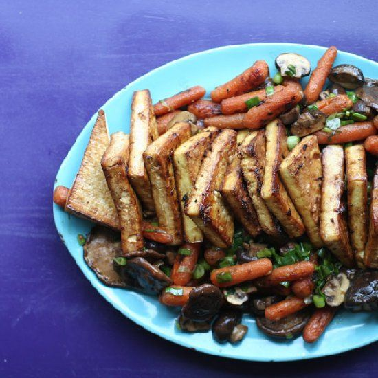 ... it with tofu, baby carrots, and mixed mushrooms for an amazing dinner