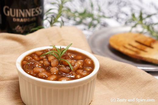 Stove Top - Guinness, Maple & Rosemary Baked Beans
