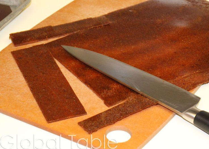 Apricot Fruit Leather (Quamar-el-Deen) | Recipe