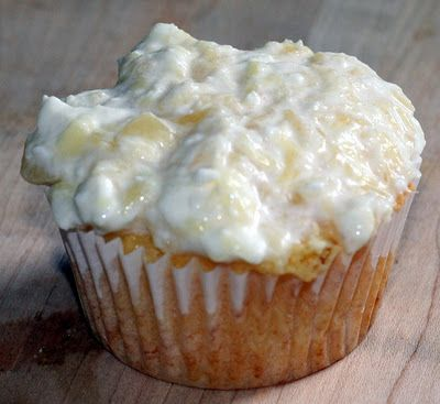 Pineapple Bliss Cupcakes | Healthy Eating | Pinterest