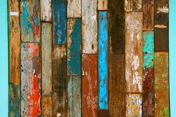 Distressed painted wood bali inspired pinterest