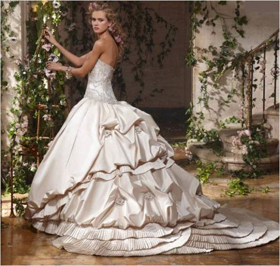A wedding dress idea?