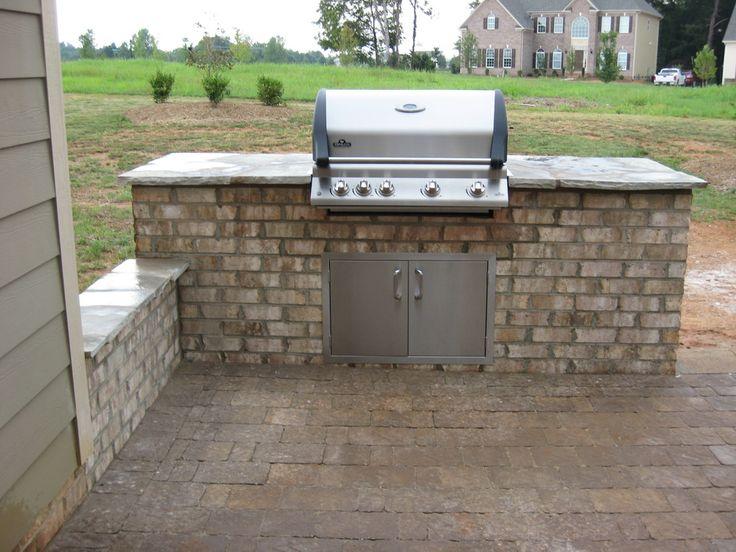 H h hardscape concrete outdoor grill maria mendoza for Hardscape concrete