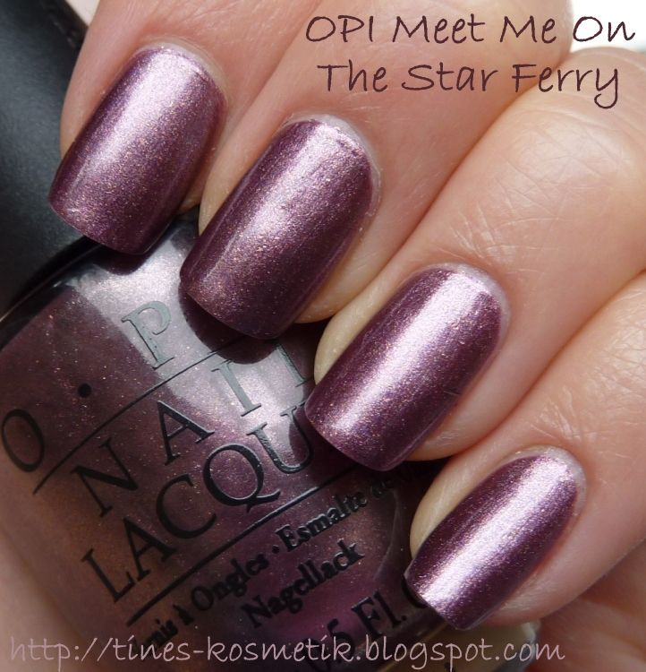 Tines Kosmetikblog  OPI Meet Me On The Star FerryOpi Meet Me On The Star Ferry