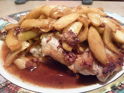 Caramel Apple Pork Chops | What's for dinner? | Pinterest