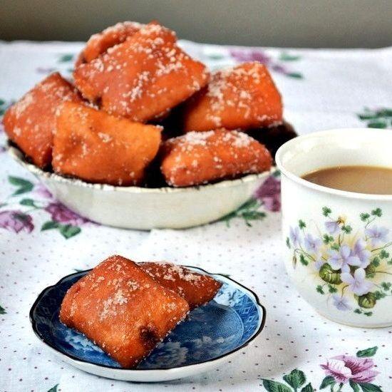 Cinnamon Honey Doughnuts | looks delicious | Pinterest