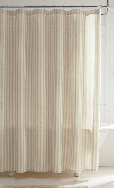 Linen Shower Curtain for $69 from Orvis