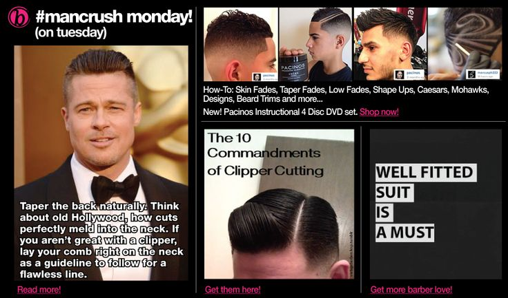 Barber Love : Barber-Love... from our tip of the day! Hair/Fashion Pinterest