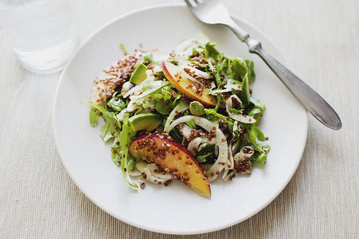 Nectarine and Fennel Salad | Veggies, Salads and Sides | Pinterest