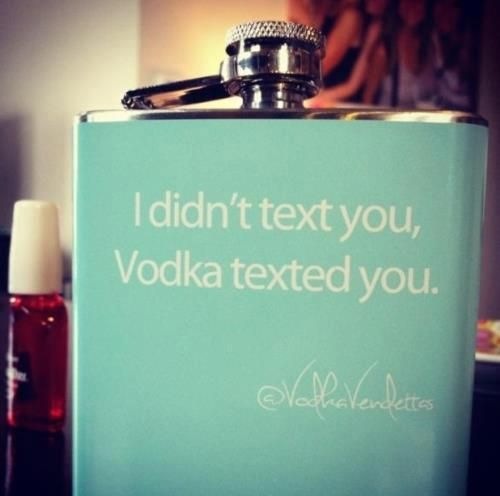 The sober me would've never text you...Fact.