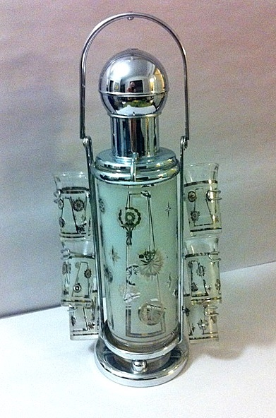 Liqueur Pump | Mid-Century Glassware | Pinterest