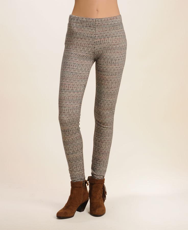 Knitted Leggings Pattern : Free People Pattern Double Knit Leggings