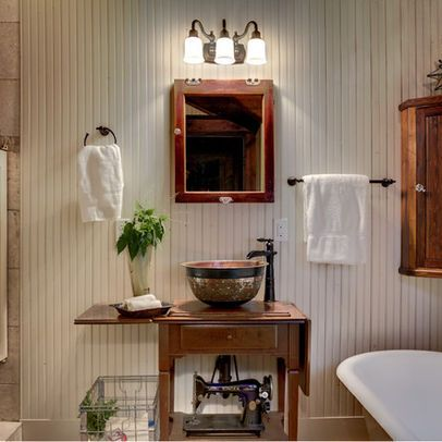 Beadboard Walls Bathrooms Pinterest