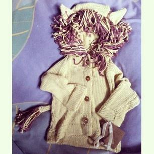Toto Knits Safari Lion sweater