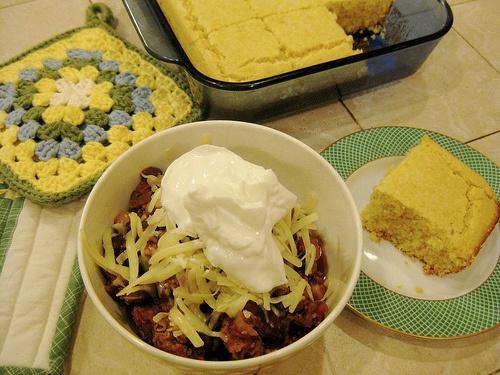 Turkey, Pork, and 3-bean Crock Pot Chili | Noms | Pinterest