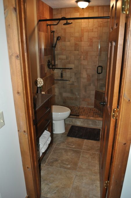 Small master bath remodel honey to do list house for Different bathrooms