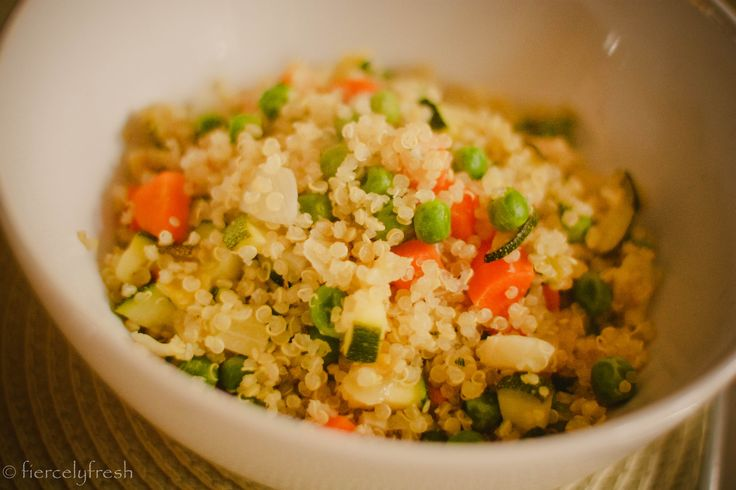 Quinoa With Veggies Recipes — Dishmaps