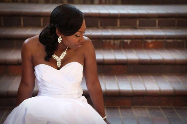 bridal session time veteran danele lashunta dupree