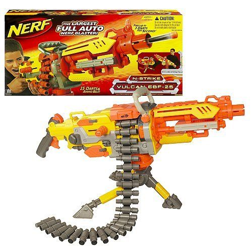 nerf guns machine gun