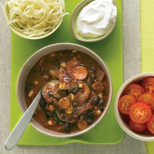 Vegetarian Black-Bean Chili - Martha Stewart Recipes