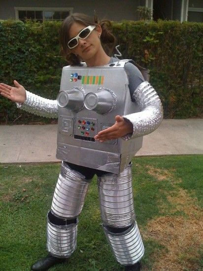 Новогодний костюм робота своими руками. « Мамин 53