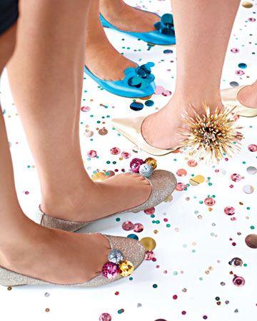 Shoe decorations! #holidayentertaining
