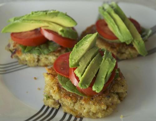 Quinoa Patties via First Home Love Life via Path to Wellness