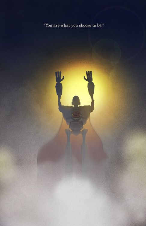 The Iron Giant illustrated by Joshua Jenkins
