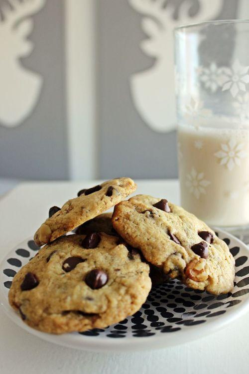 Vegan Rosemary Chocolate Chip Cookies | Things I'm Making | Pinterest