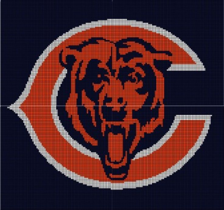 Free Crochet Pattern For Chicago Bears C : Pin by Dina Haynes on Crochet Pinterest