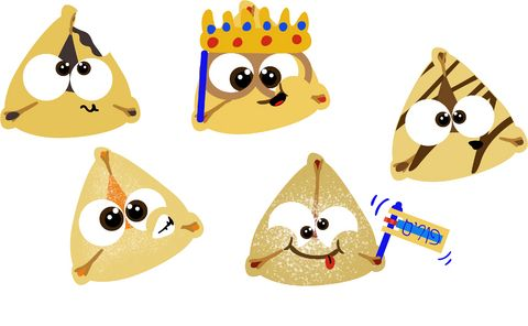 handy list of possible Hamantaschen fillings:• Jams and jellies ...